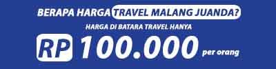 harga travel malang juanda